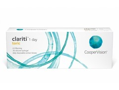 Clariti 1Day Toric 30 Pack Contact Lenses